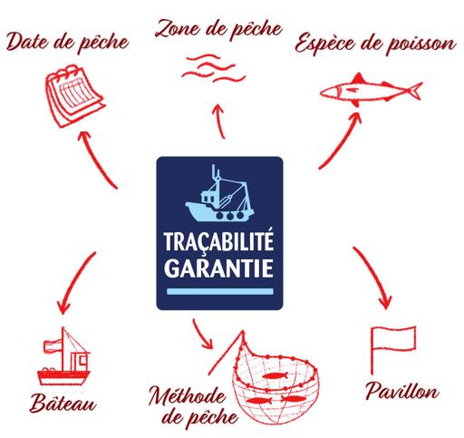 La traçabilité Saupiquet