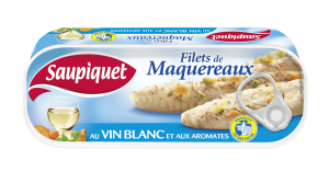 Filets de maquereaux au vin blanc et aromates