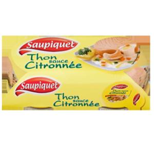 Thon sauce Citronnée - 2x135g