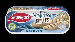 Filets de maquereaux grillés nature