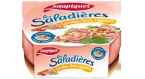 Saladière Céréales, Thon, Légumes Saupiquet