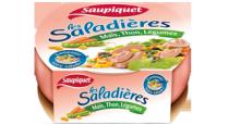 Saladière Maïs, Thon, Légumes Saupiquet