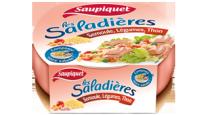 Saladière Semoule, Légumes, Thon Saupiquet