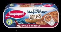 Filets de maquereaux grillés sauce barbecue