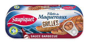 Filets de maquereaux grillés sauce barbecue
