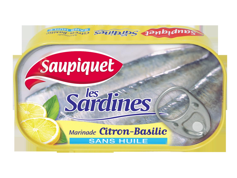 Sardines entieres Citron